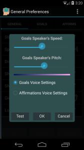 DIVA Voice Settings