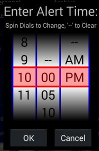 Time Spinner